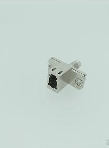 LC-DIN金属光纤适配器法兰盘耦合器