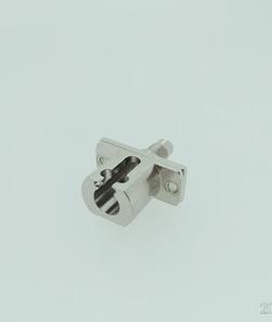 DIN-LC金属光纤适配器法兰盘耦合器