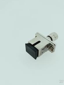 SMA-SC金属适配器光纤法兰盘耦合器
