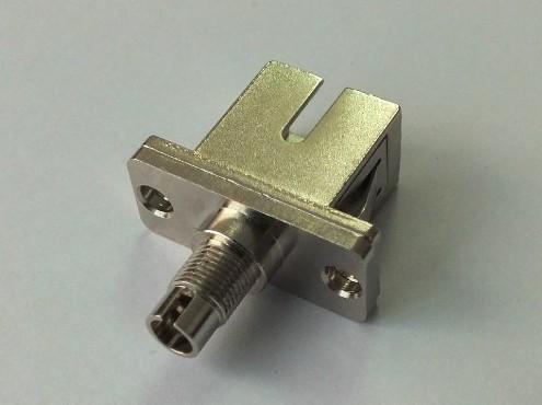 DIN-SC/SC-DIN转接法兰(DIN-SC/SC-DIN转接光纤适配器)